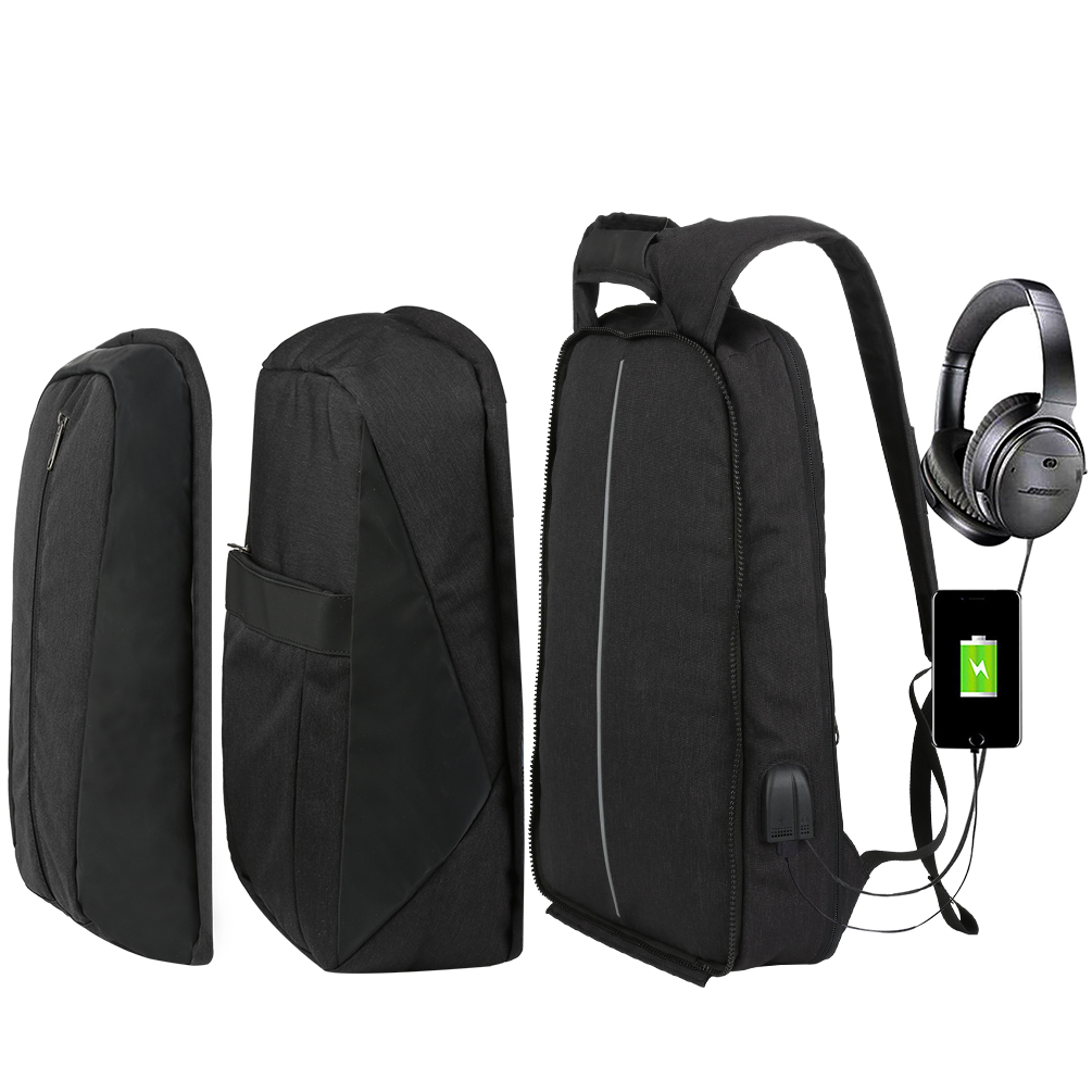 Vbiger Fits 17.3 Laptop Unisex 3-in-1 Laptop Backpack Detachable Travel Bag Lightweight School Shoulders Bag