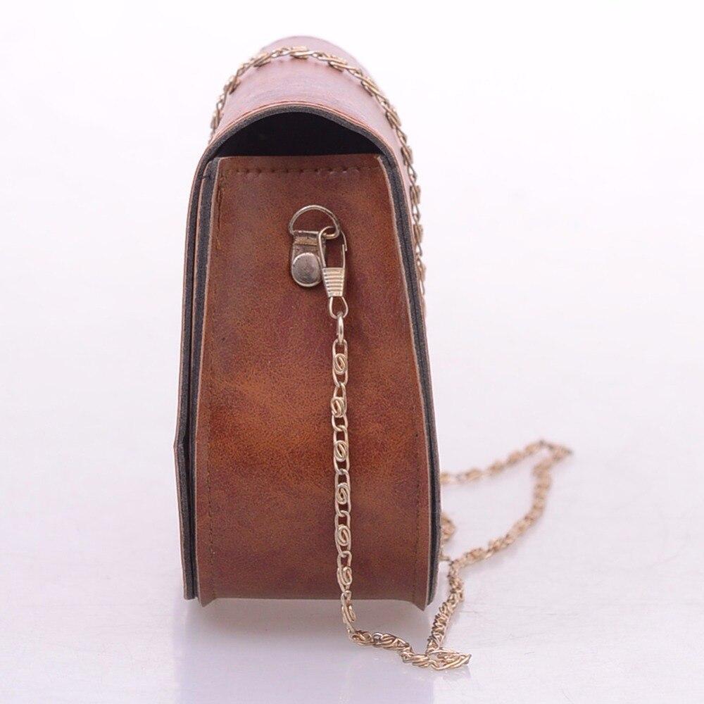couro marca designer mini bolsa Exterior : Nenhum