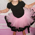 new arrival baby girl ribbon tutu skirt chiffon casual fluffy ball gown pettiskirt fashion toddler girl mini dance skirt tutu