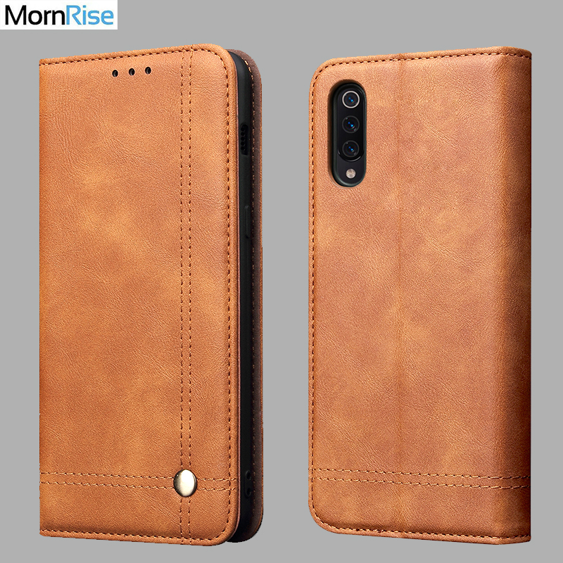 Vintage Leather Flip Cover For <font><b>Xiaomi</b></font> <font><b>MI</b></font> <font><b>A3</b></font> <font><b>A3</b></font> lite Wallet Luxury Card Pocket Stand Magnet Book Cover Casual Phone Case <font><b>Fundas</b></font> image
