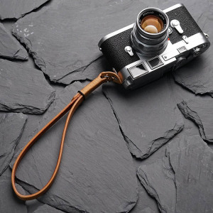 Image 2 - Mr.stone Handmade Genuine Leather Camera Wrist Strap(Winding)