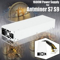 1600w 92 Mining Machine Power Supply For Bitcoin Miner S7 S9 Ethereum ZEC Zcash New ATX