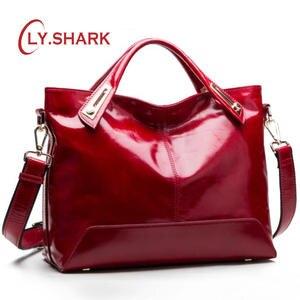 5577b32b9323 SHARK Leather Luxury Handbags Messenger Bags Designer