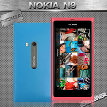 Original Unlocked Nokia N9 Nokia Lankku A-GPS WIFI 3G GSM 8 MP Camera 16GB Mobile Phone Refurbished Russian Multi Language