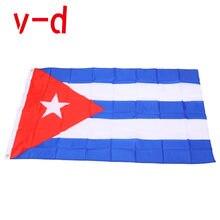 Бесплатная доставка xvggdg 90x150 см флаг Кубы баннер висящий