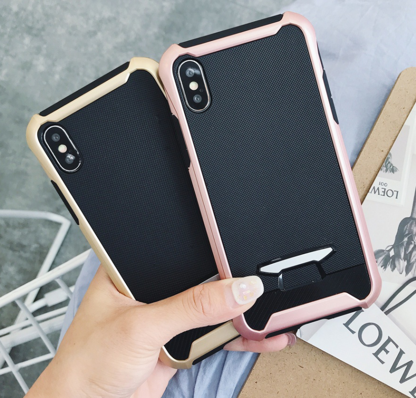 Armor Phone Shell for Apple IPhoneX i6 i6S i7 i8 Plus Cover High Quality Coque for Samsung Galaxy S8 S9 S8plus S9Plus Soft Case