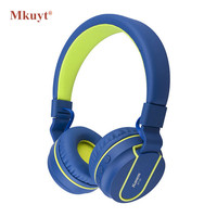 MKUYT Bluetooth Stereo Headphone Cordless Auriculares Wireless Headset Hands Free For Head Phone Ear Bud 4
