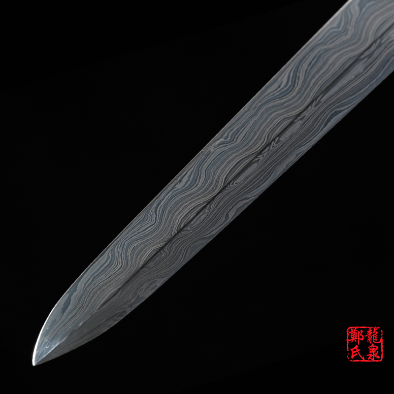 Traditional Handmade Folded Steel Sword
