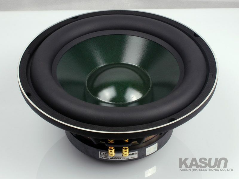 1pcs professional woofer loudspeaker woofer Speaker KS 10456 10 inch bass speaker 250W 8 ohm for HIFI amplifier
