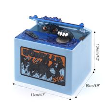 New Godzilla Film Musical Monster Moving Electronic Coin Money Piggy Bank Box for Kids Children Toys Gifts