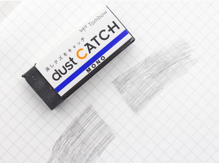 Japan TOMBOW MONO EL-AT EN-DC Dust Catch & Air Touch Eraser Friction EraserLabor-saving Clean Student Drawing Eraser