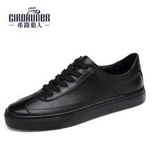 2017, Новая мода натуральная кожа мужские Shoes ручной работы бизнес-Office Оксфорд удобная мужская повседневная обувь большие Размеры