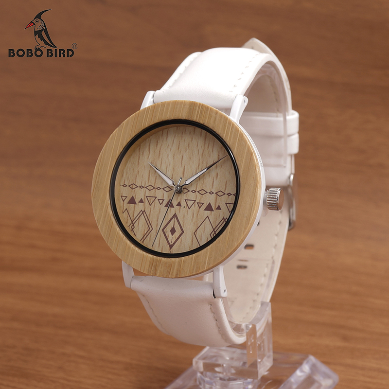 BOBO BIRD E24 Unisex Top Brand Designer Wristwatches Men s Women s Nature Bamboo Wooden Watches
