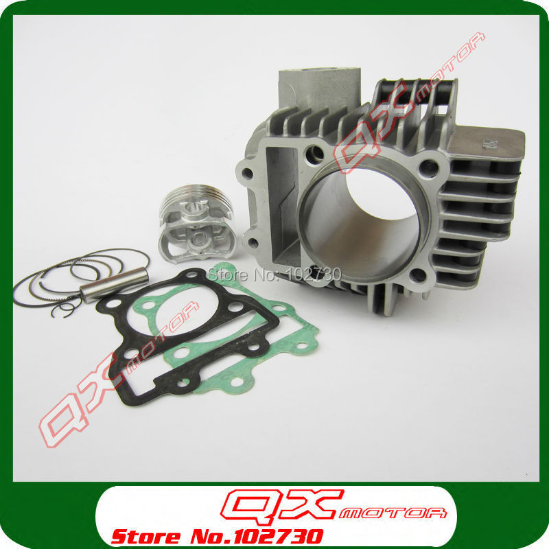 US $71 2 20% OFF|Zongshen 155z Engine Cylinder with 60mm piston kit  cylinder head gasket for Kayo 150 155 160cc Dirt Pit Bikes Free shipping-in