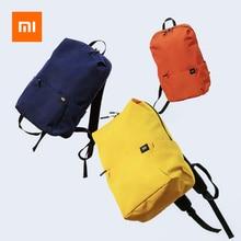 Рюкзак Mi 10L, 8 цветов, 165 г, городская Спортивная нагрудная сумка для мужчин и женщин, маленькая Наплечная Сумка Unise Bolsa