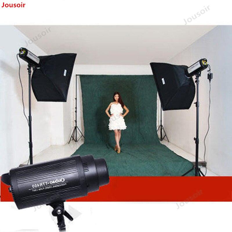 400 W grande fotografia Flash a doppio set lampada studio lampada luce morbida Scatola di abbigliamento tiro CD50 T03400 W grande fotografia Flash a doppio set lampada studio lampada luce morbida Scatola di abbigliamento tiro CD50 T03