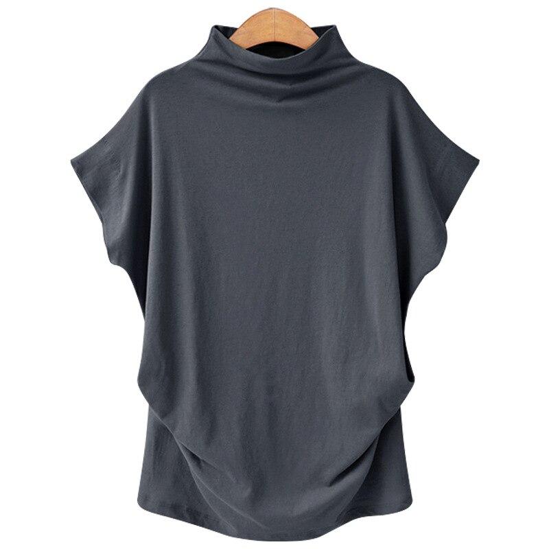 Summer Female Cotton Blouse Women Wholesale Women Blouse Cotton High Quality Blouse 5200