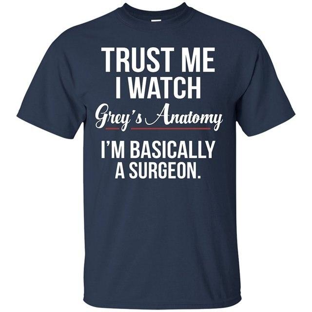 Moda hombres impreso camiseta hombres confíe en que yo reloj ...