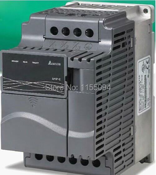 VFD002E21T Delta VFD-E inverter AC motor drive 1 phase 220V 200W 0.25HP 1.6A 600HZ new in box vfd007e11a delta vfd e inverter ac motor drive 1 phase 110v 750w 1hp 4 2a 600hz new in box