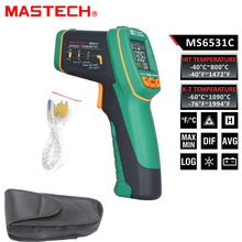 MASTECH MS6531C D S 12 1 Handheld Digital LCD IR Thermometer Laser Temperature Tester Pyrometer Pyrometer