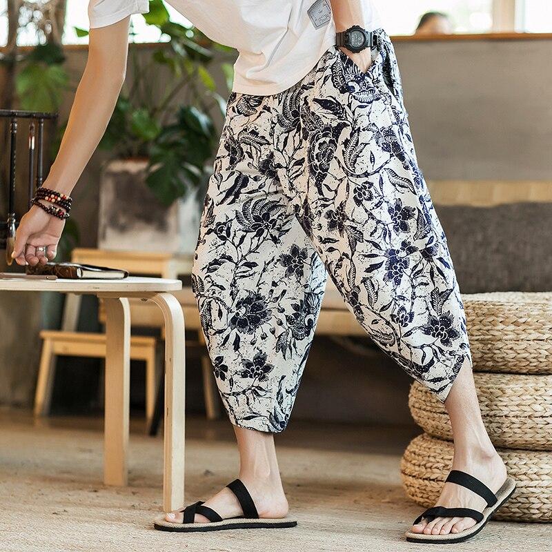 Полосатые спортивные штаны с трафаретным принтом, уличные мужские спортивные штаны с эластичной талией, спортивные штаны для бега