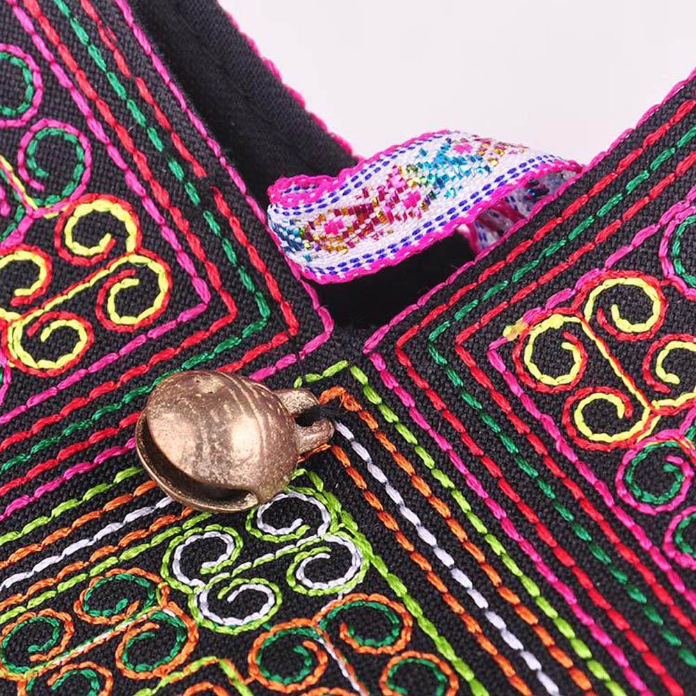 Women's Mandala Embroidery Shoulder Bag 4