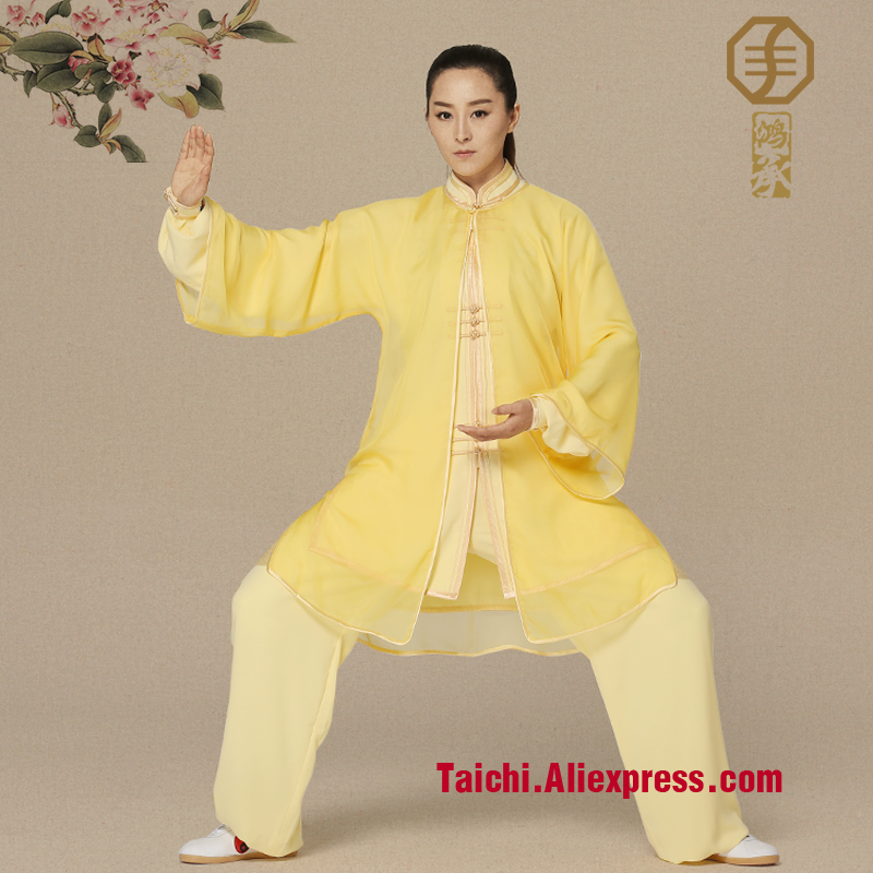 embroidery clothes  Tai Chi martial arts clothing performance Uniform