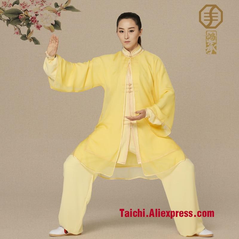 embroidery clothes  Tai Chi martial arts clothing performance Uniform customize tai chi clothing martial arts suit performance embroidered outfit kungfu uniform for women children girl boy kids