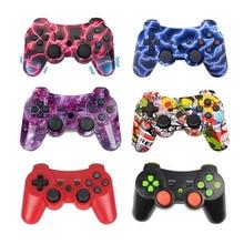 PS3 用ワイヤレスコントローラ用の Playstation3 PS3 ため 6 軸ワイヤレスコントローラジョイスティックジョイパッドパッドとケーブル