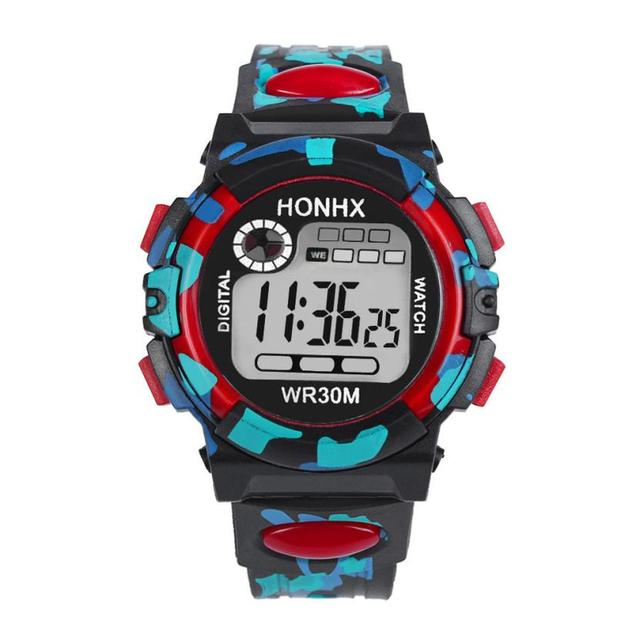 Aimecor 2018 New Kids Child Boy Girl Waterproof Sports Multifunction Electronic Casual Wrist Watches Dropshipping