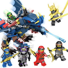 Legoings Model Building Kits Toys Ninja Warrior Weapons Doll City Police Boy Building Block Toys Star Wars DIY Figures Mini Toy(China)