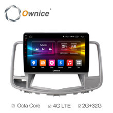 "Ownice C500+ 10.1"" Octa Core 32G ROM car radio for Nissan Teana 2008-2012 Android 6.0 car dvd player Support DAB+ Carplay dvr"