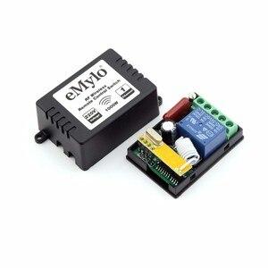 Image 3 - EMylo Smart Drahtlose Fernbedienung Licht Schalter AC220V 1000 W Weiß & Blau Sender 12X1 Kanal Relais 433 mhz Toggle Latched