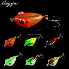 1PCS Hard Plastic 4CM/6G Artificial Frog Fishing Lures Bait