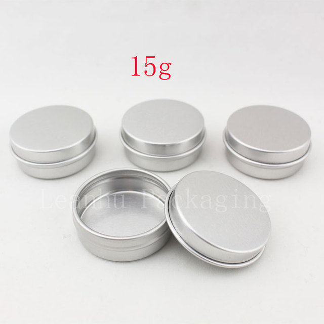 Aliexpress Com Buy 15g Aluminum Empty Cosmetic Container