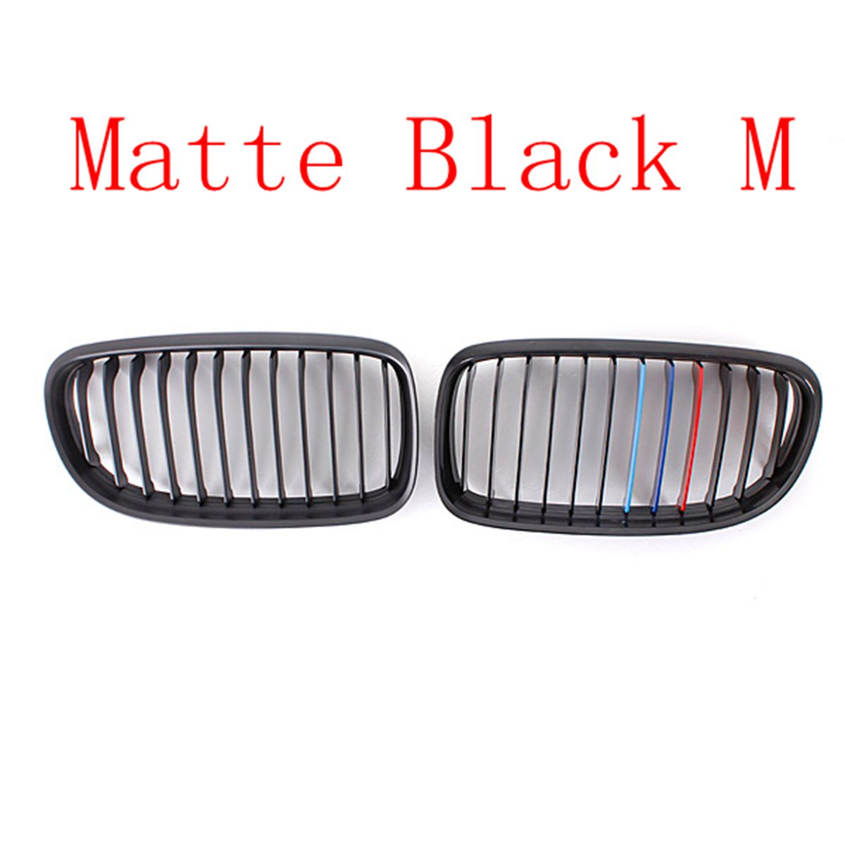 Image 5 - Pair Matte/Gloss Black Car Front Grille For BMW E90 LCI 3 Series Sedan/Wagon 09 11 Racing Grills-in Racing Grills from Automobiles & Motorcycles