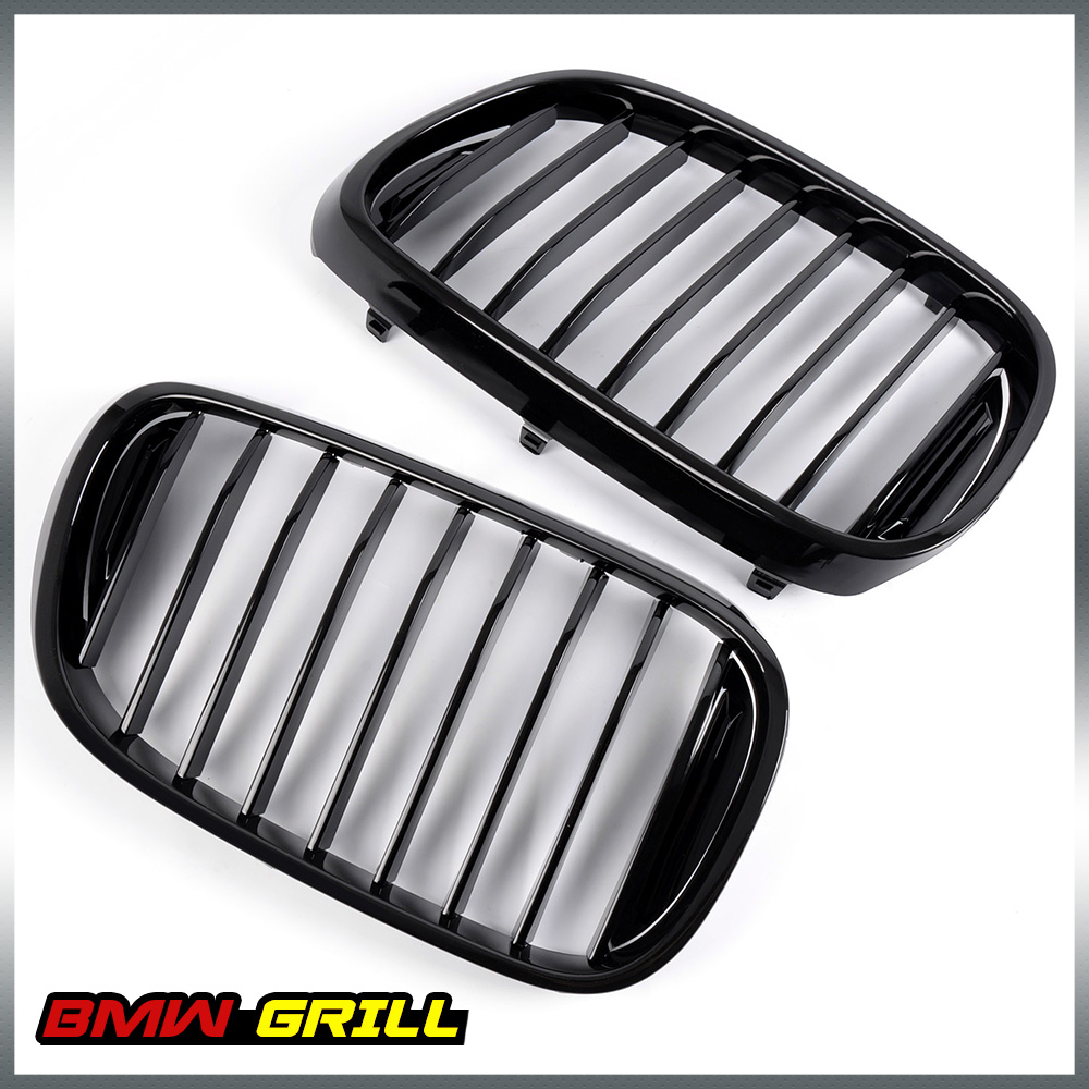 Left &Right Front Kidney Grille Gloss Black For BMW G11 G12 7 Series 2017+ inverter accessories 5000g11 and p11 series 7 5kw drive plate g11 ppcb 4 7 5