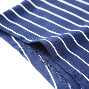Image 5 - Men Underwear Printed Boxer Male Panties Short Fashion Striped Cueca Boxer Homme Modal Slip Boxershorts L 4XL 4pcs/lot