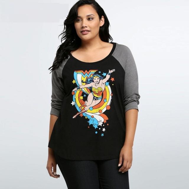 Mujeres otoño invierno loose camisetas moda de impresión O cuello de manga larga Camiseta para mujer ocasional ZT1479