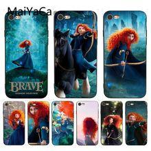 Чехол MaiYaCa чехол для iPhone 7 с мультяшным принтом Brave Мерида ретроспективный чехол для iPhone X 6 7 6s 7plus 8 8Plus XS XR 5C SE