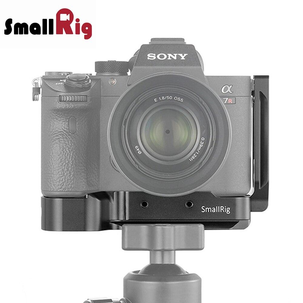 SmallRig de liberación rápida A7R3 L-Plate para Sony A7M3 L-soporte para Sony A7 III/A7R III DSLR Cámara 2122