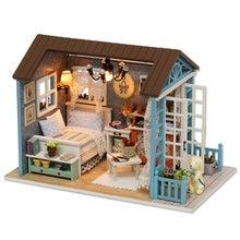 Кукольный домик cutebee миниатюрный кукольный diy с деревянной