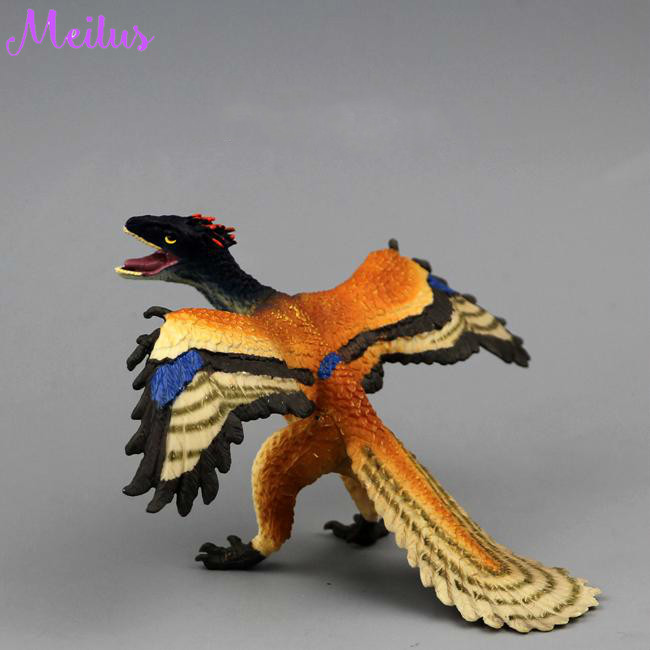 Realistic Jurassic Archaeopteryx Kids Toy Bird Dinosaur Figure Christmas Gift