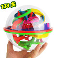 New 3D Puzzle Ball Maze Ball 138 Barriers Space Intellect Game Stages Kids boy girl Toy Gift