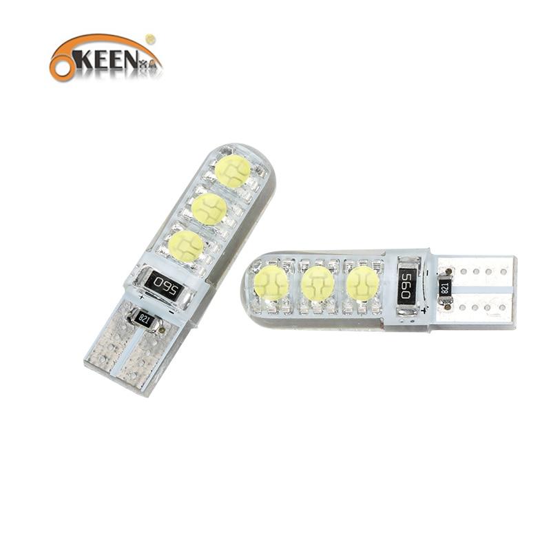 OKEEN ավտոմեքենաների ոճավորող PCS սպիտակ - Ավտոմեքենայի լույսեր - Լուսանկար 2