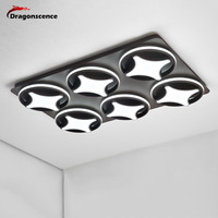 Dragonscence Modern Led Ceiling light lustre For Living Room Commercial occasions Large Ceiling lamp High power High brightness