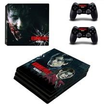 Game Resident Evil PS4 Pro Skin Sticker Vinyl Decal
