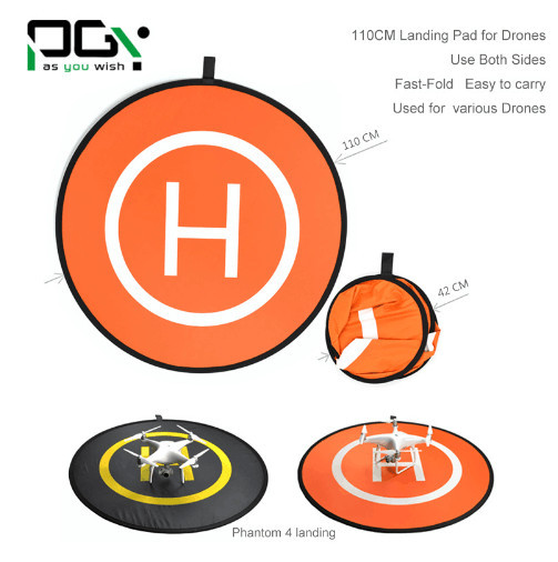 PGY Fast-fold landing pad helipad protective RC Drone gimbal Quadcopter Helicopter parts DJI phantom 2 3 4 inspire 1 Mavic Pro