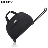 New Waterproof Luggage Bag Thick Style Rolling Suitcase Trolley Luggage Women&Men Travel Bags Suitcase With Wheels fashion 24''