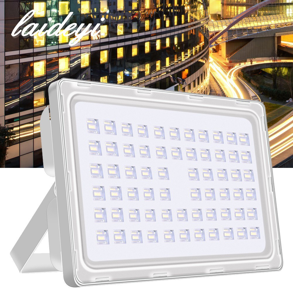 5PCS 200W Becuri de inundații 200-240VAC SMD High Wattage High Lument 24000lms LED de inundații cu lumină impermeabilă LED Floodlight Transport gratuit